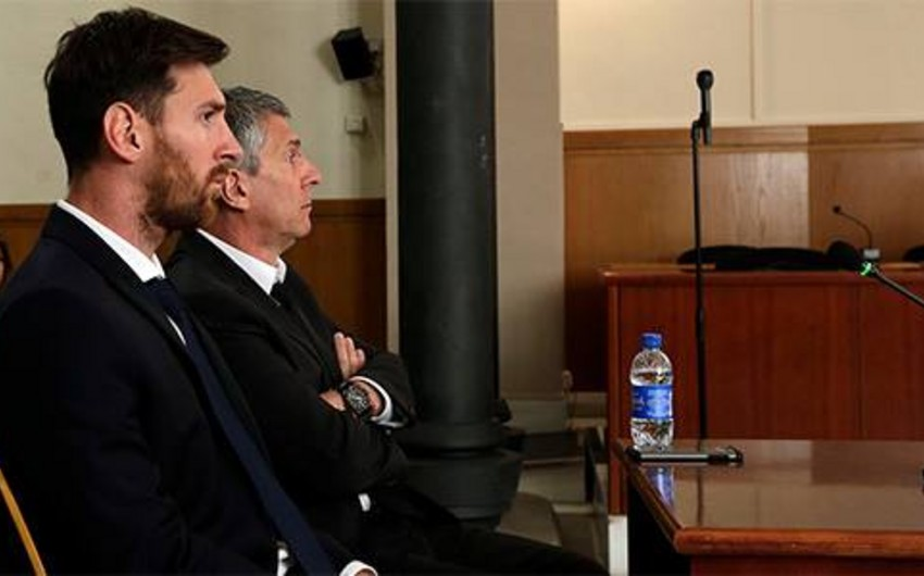 Lionel Messi və atasına 21 ay həbs cəzası verilib