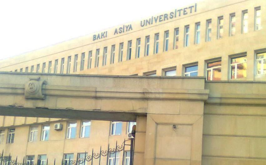 Bakı Asiya Universitetinin bağlanmasının səbəbləri açıqlanıb