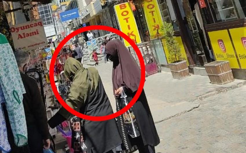В Баку распространены кадры с карманниками - ВИДЕО