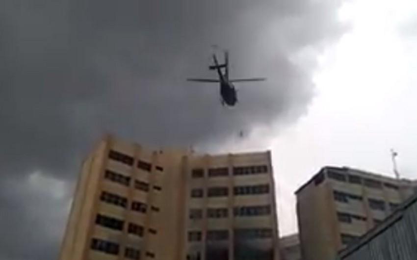 Salvadorun Maliyyə Nazirliyi binasında yanğın olub, 2 nəfər ölüb, 15-i yaralanıb