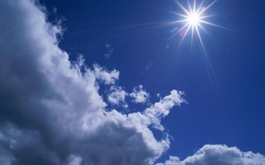 Sabah Azərbaycan ərazisində hava şəraiti yağmursuz olacaq