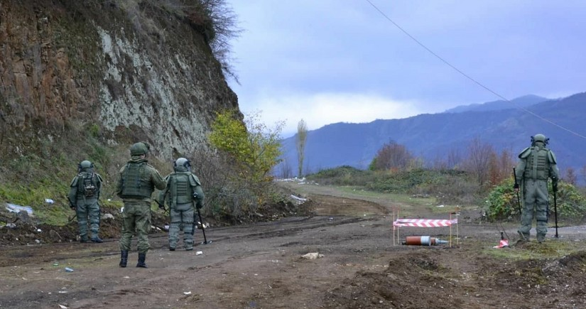 Mine-clearance operations begin in Karabakh
