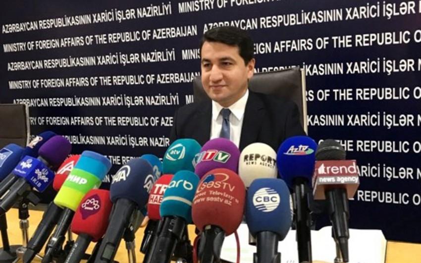 Azərbaycan XİN: 2017-ci ildə Ermənistan danışıqlar prosesini pozmaq üçün cəhdlərini davam etdirib
