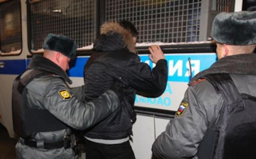 Moskvada azərbaycanlılarla polis arasında silahlı insident baş verib