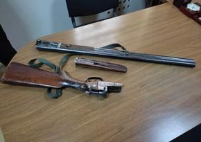 Saatlı və Zərdab sakinlərində silahlar aşkarlandı