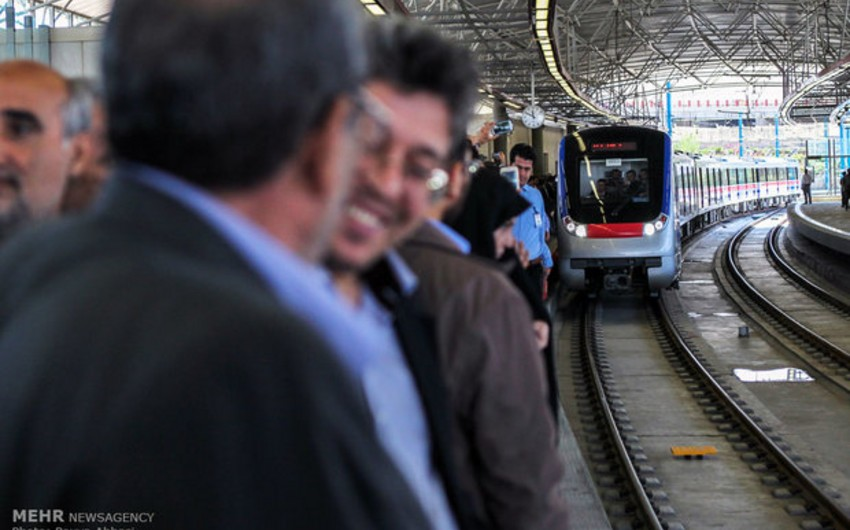 Təbrizdə ilk metro stansiyası açılıb