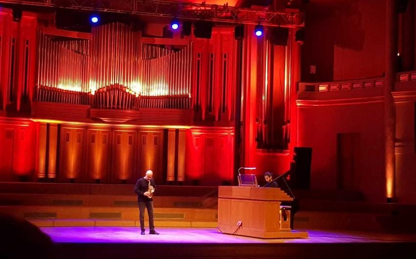İsfar Sarabski Brüsseldə konsert verib