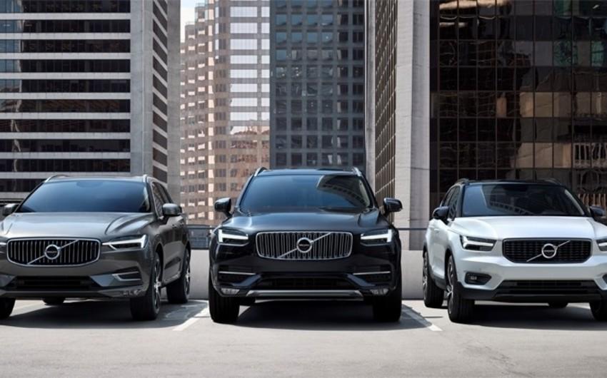 Volvo bütün dünyada satılmış 500 min avtomobilini geri çağırır