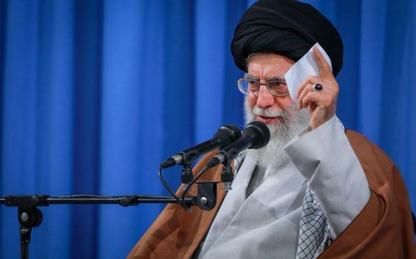 İranın ali rəhbərinin ənənəvi bayram çıxışı koronavirusa görə təxirə salındı