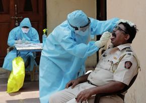 Hindistanda koronavirusa yoluxanların sayı 7,5 milyonu keçdi