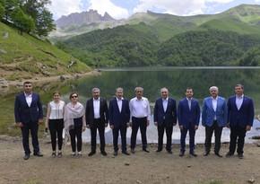 Türkiyə Ali Məhkəməsinin Baş prokuroru Göygöl Milli Parkında olub
