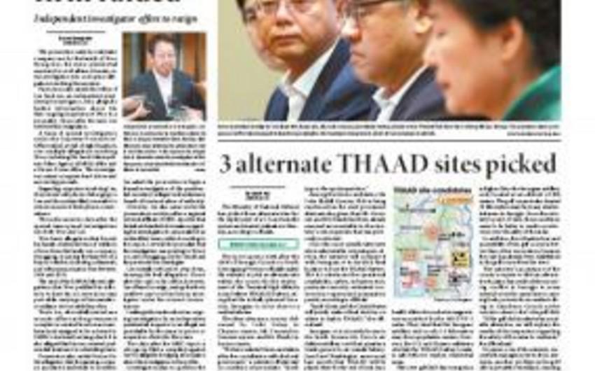 The Korea Times qəzeti: Ermənistanda nüvə silahının istehsalı olduqca təhlükəlidir
