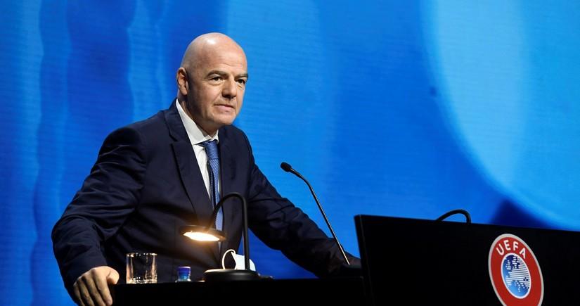 FIFA prezidenti: AFFA ölkədə və regionda futbolu inkişaf etdirəcək