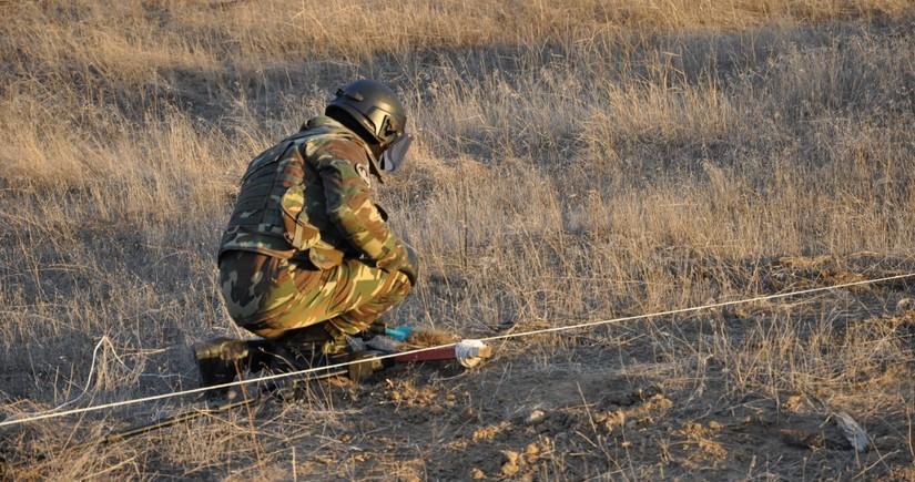 Азербайджанские и российские саперы обезвредили 210 мин