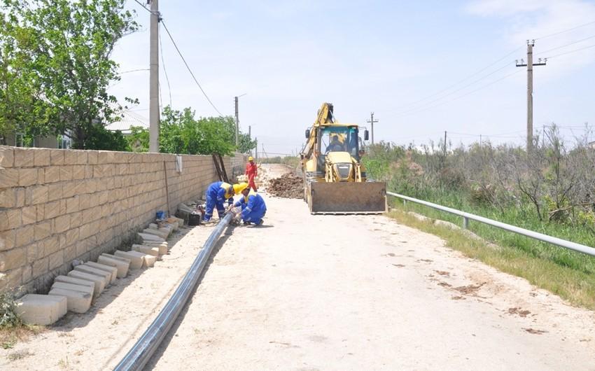"""Azərsu"""" Xızıda Yeni Yaşma kəndinin içməli su təminatının yaxşılaşdırılması layihəsinin icrasına başlayıb"""