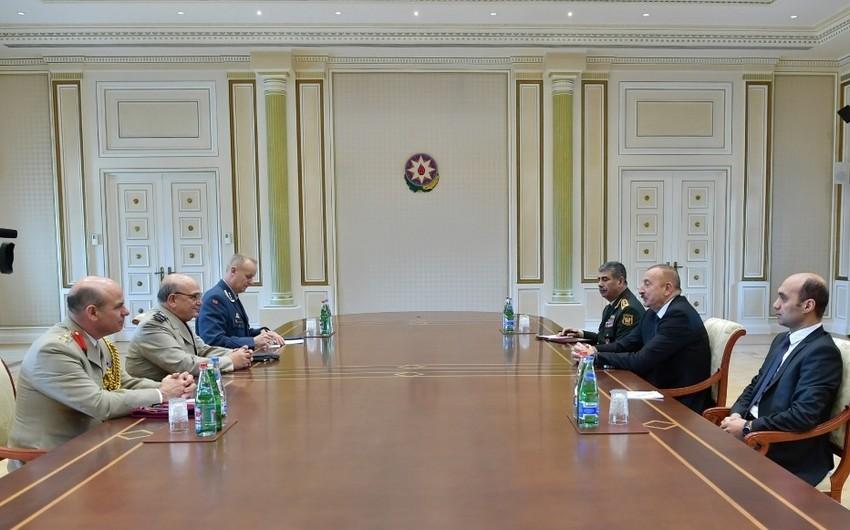 Prezident İlham Əliyev NATO-nun Hərbi Komitəsinin sədrini qəbul edib - YENİLƏNİB