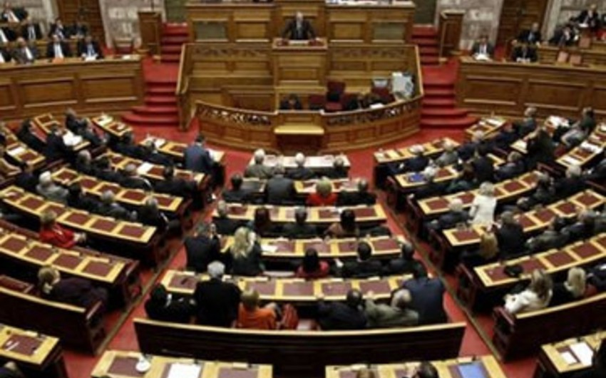 Greek parliament adopts law on criminalization of so-called Armenian genocide