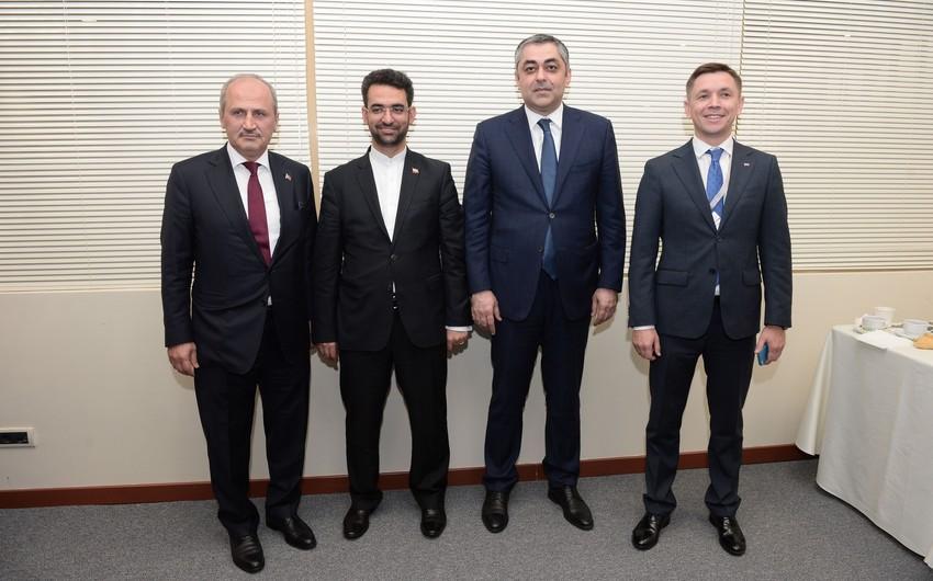 Azərbaycan, İran, Rusiya və Türkiyənin İKT nazirləri dördtərəfli görüş keçirib