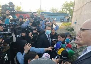Government officials, diplomats visiting Terter