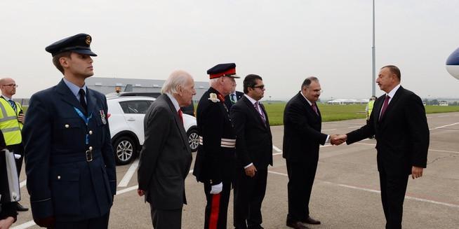 Azərbaycan prezidenti Böyük Britaniyada işgüzar səfərdədir
