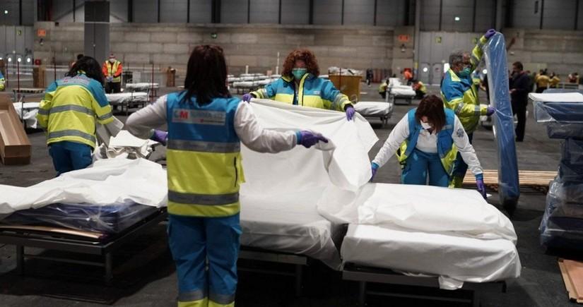 Spain posts slowdown in coronavirus spread