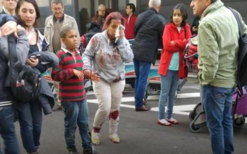 Brüssel aeroportunda iki partlayış baş verib: 13 ölü, 35 yaralı - YENİLƏNİB - VİDEO