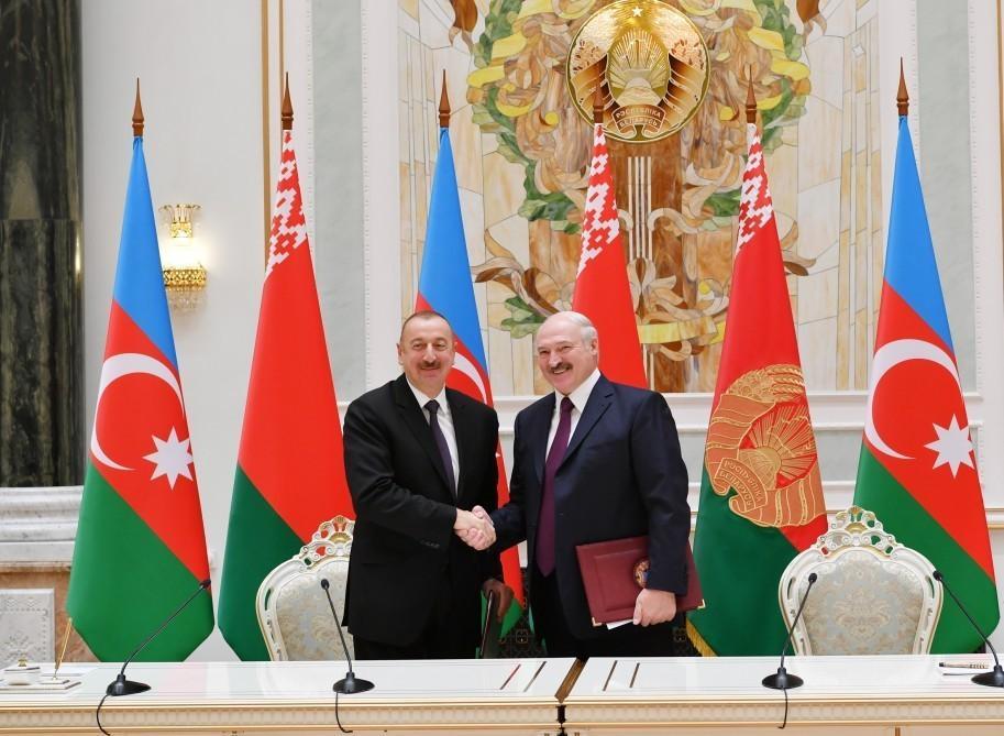 Подписаны азербайджано-белорусские документы