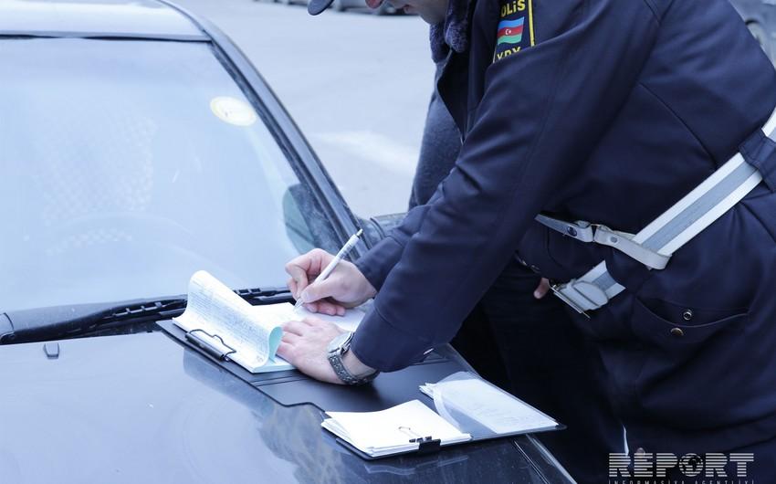 Yol polisi bir gündə 4796 sürücünü cərimələyib