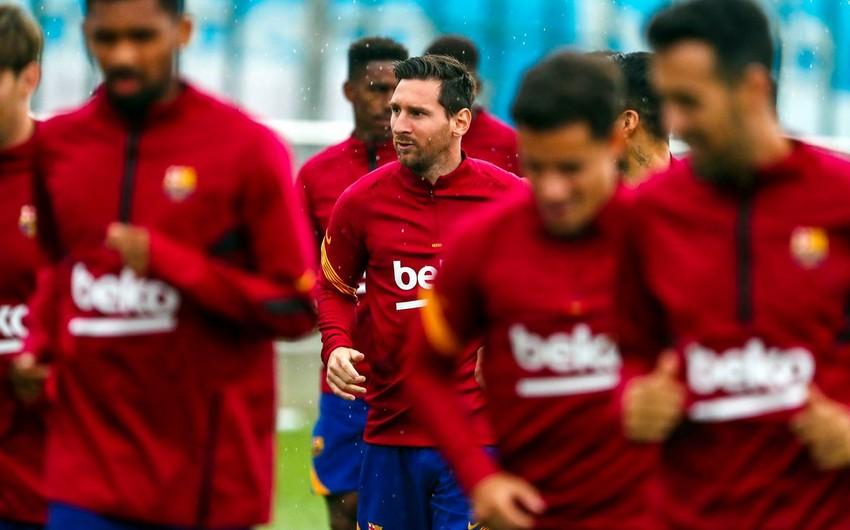 Messi kollektiv məşqlərə qoşuldu