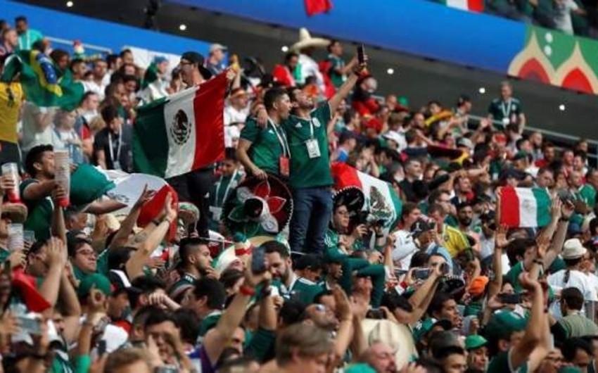 FİFA Meksika və Serbiya futbol federasiyalarını azarkeşlərinə görə cəzalandırıb