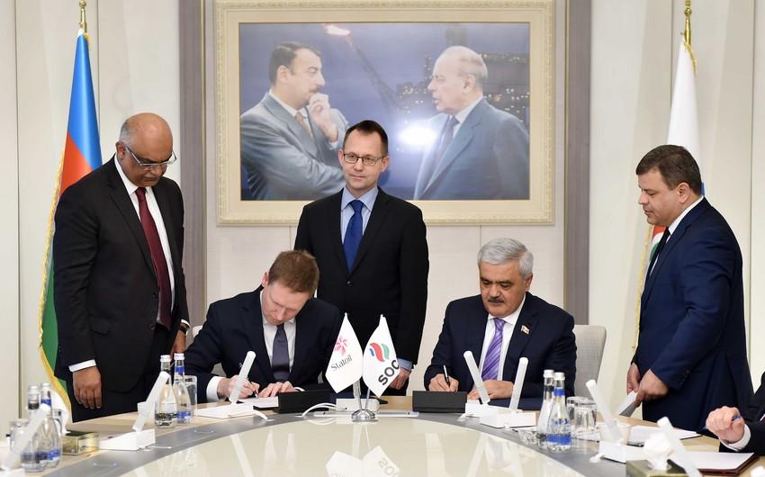 SOCAR и Statoil подписали соглашения по ключевым принципам перспективного сотрудничества