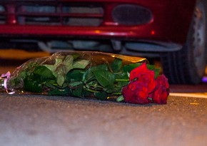 Женщина попала под машину на Ясамале