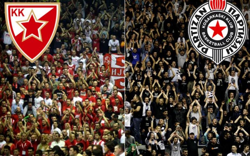 Serbiyada futbol fanatları arasında kütləvi dava olub, xəsarət alanlar var