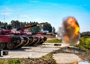 Azerbaijani tankmen reach final of Tank Biathlon contest
