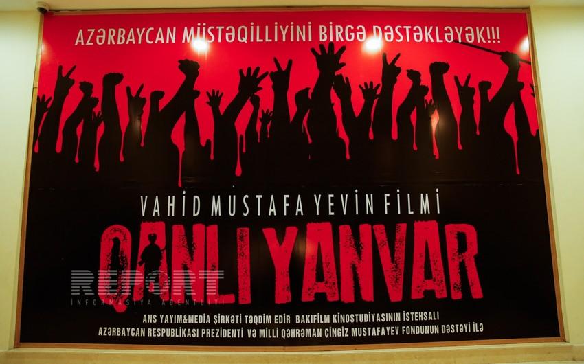 Qanlı Yanvar filminin təqdimatı keçirilib