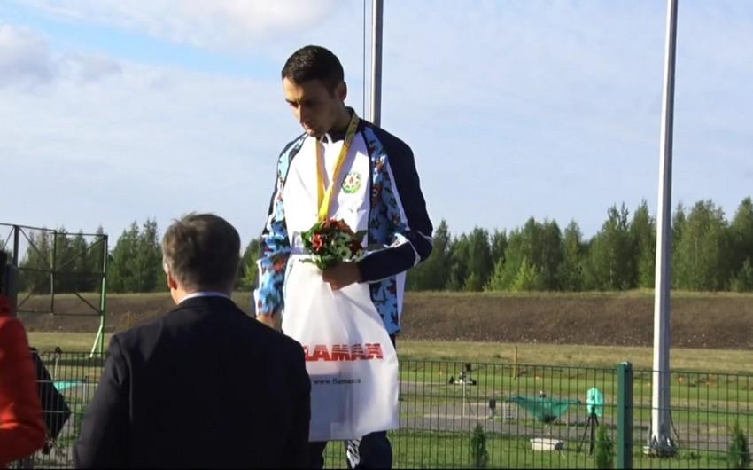 MDB Oyunları: Azərbaycanın daha bir idmançısı qızıl medal qazanıb