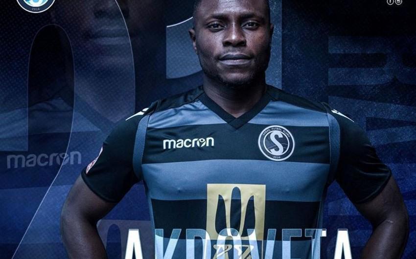 Səbail nigeriyalı futbolçu ilə müqavilə bağlayıb
