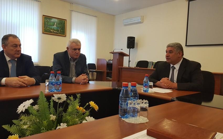 Namiq Əliyev yenidən Azərbaycan Güləş Federasiyasının I vitse-prezidenti seçilib