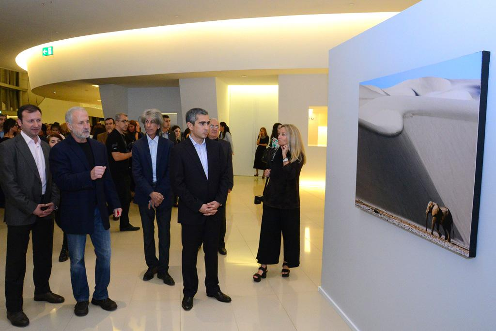 Heydar Aliyev Center launched solo exhibition of famous photographer