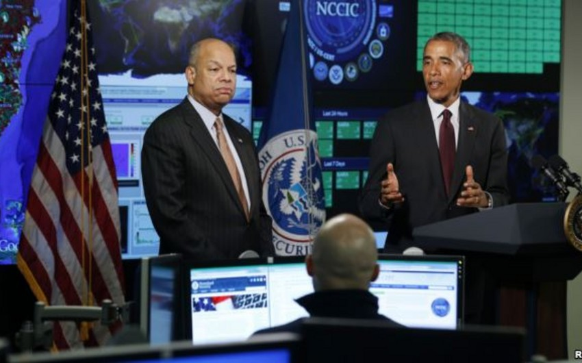 Barak Obama kiber təhlükəsizliyi gücləndirəcək qanunun tərəfdarıdır