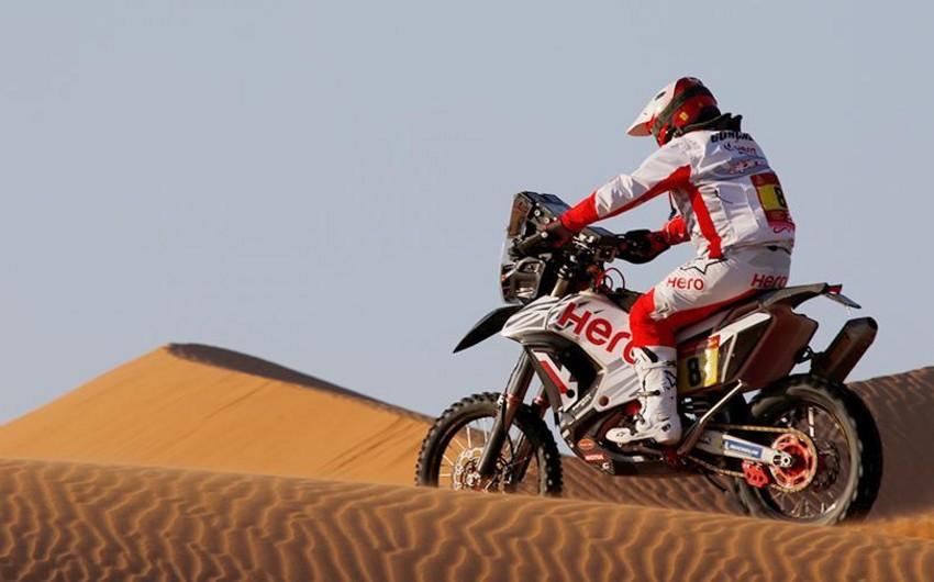 Portuqal motosikletçi Dakar yarışında həlak olub - FOTO