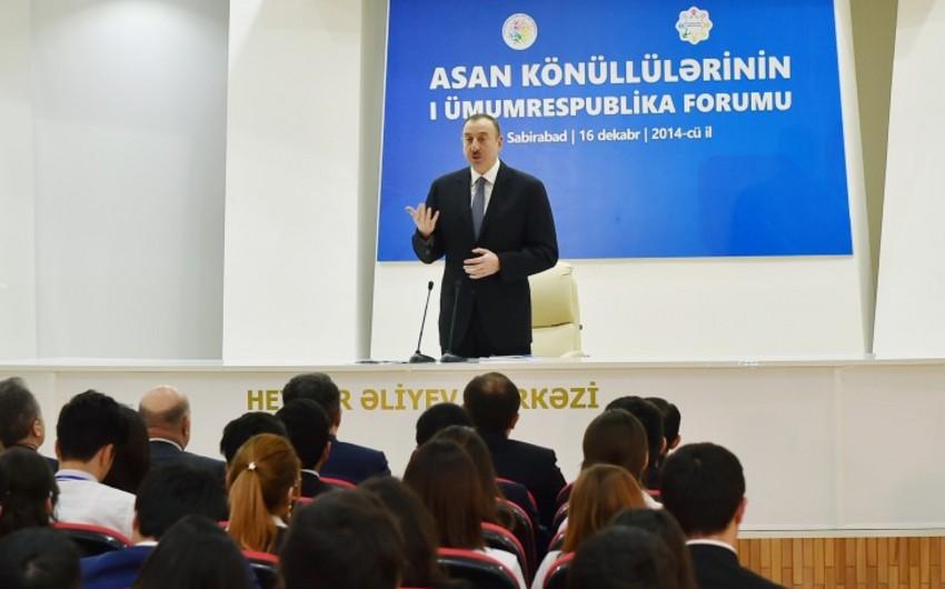 """Azərbaycan Prezidenti: """"Dövlət məmurları vətəndaşları incitməməlidirlər"""""""