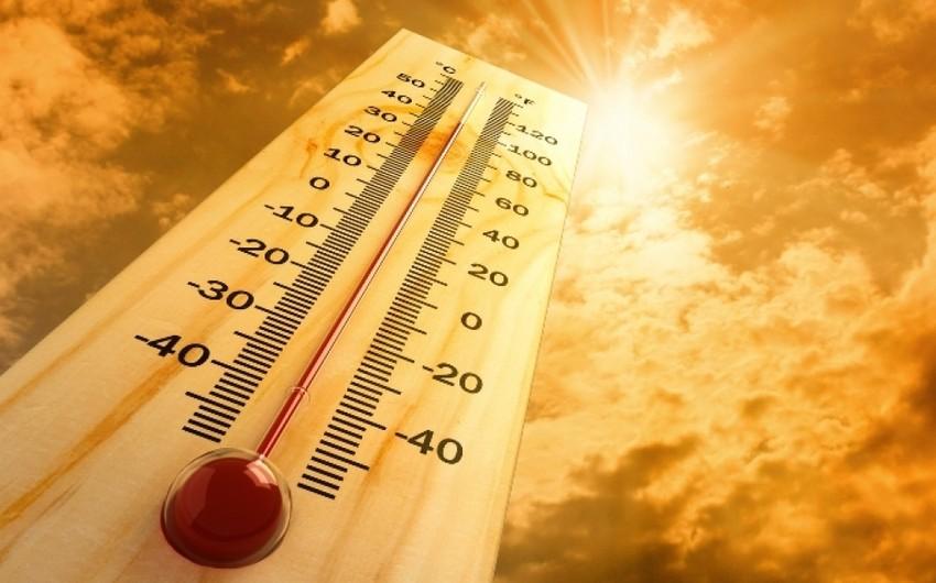 Sabah Azərbaycanda havanın temperaturu 43 dərəcəyədək artacaq