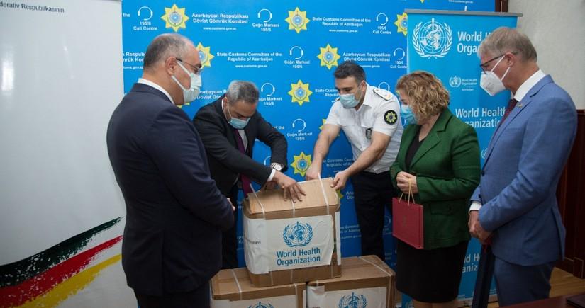 Германия передала Азербайджану 300 тыс. медмасок
