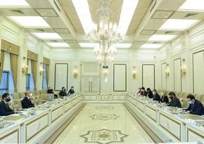 Sahibə Qafarova italiyalı deputatlarla görüşüb