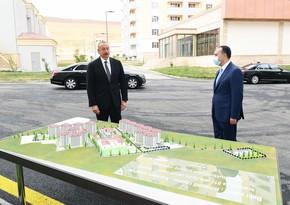 Ильхам Алиев принял участие в церемонии вручения квартир семьям шехидов и ветеранов - ОБНОВЛЕНО