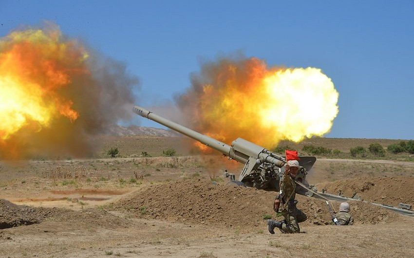 Rocket and artillery formations carried out live-fire training exercises in Azerbaijan - VIDEO