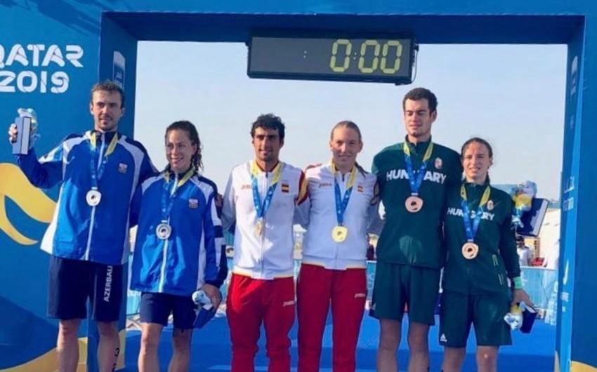 Azərbaycan Dünya Çimərlik Oyunlarında daha bir medal qazanıb
