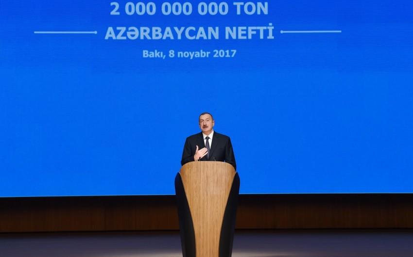 İlham Əliyev: Bizim heç bir maliyyə problemimiz, çətinliyimiz yoxdur