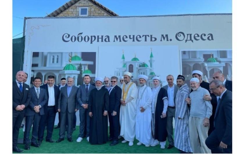 Ukraynanın Odessa şəhərində yeni məscidin təməli qoyulub
